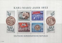 Oost-Duitsland - Karl-Marx-Jahr – Postfris/MNH – Michel Block 9A - [6] Oost-Duitsland