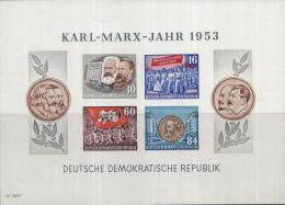Oost-Duitsland - Karl-Marx-Jahr – Postfris/MNH – Michel Block 9B - Blokken