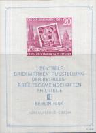 Oost-Duitsland - Erste Zentrale Briefmarkenausstellung De Betriebarbeitsgemeinschaf Ten – Postfris/MNH – Mic - Blokken