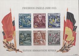 Oost-Duitsland - 60. Todestag Von Friedrich Engels– Postfris/MNH – Michel Block 13 - [6] Oost-Duitsland