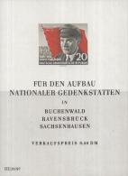 Oost-Duitsland - 70. Geburtstag Von Ernst Thälmann– Postfris/MNH – Michel Block 14 - Blokken