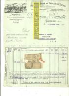 59 - Nord - CAMBRAI - Facture DUROYON & RAMETTE - Manufacture De Chicorée – 1932 - REF 172 - Vieux Papiers
