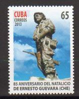 TIMBRE CUBA 2013 ERNESTO CHE GUEVARA - Célébrités