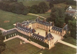 Ponchartrain.. Belle Vue Aérienne.. Le Château - France