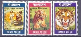 1974. Bangladesh, Animals, Tiger,  3v, Mint/** - Bangladesh