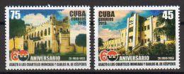 TIMBRES CUBA 2013 ASALTO CUARTELES MONCADA - ASSAUT DE LA CASERNE MONCADA - Militares