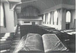 NL.- Nunspeet. Gereformeerde Kerk. Interieur. Orgel. 2 Scans - Nunspeet