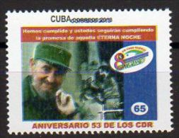TIMBRE CUBA 2013 FIDEL CASTRO - Celebridades
