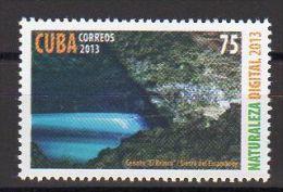 TIMBRE CUBA 2013 NATURALEZA DIGITAL -  DIGITAL NATURE - Informática