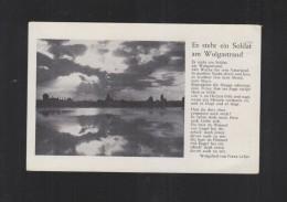 AK Lied Es Steht Ein Soldat Am Wolgastrand - Weltkrieg 1939-45