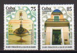 SERIE CUBA 2013 CASA DE LOS ARABES - MAISON DES ARABES - Mezquitas Y Sinagogas