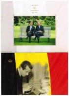 Luxekaart.  Troonsafstand Koning Albert II En Eedaflegging Koning Filip I - Belgique