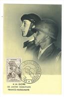 VEND CM ALGERIE ANCIENS COMBATTANTS 27 / 3 / 1954 !!!! - Cartes-maximum