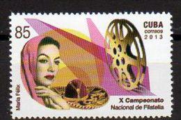 TIMBRE CUBA 2013 MARIA FELIX CINEMA - Cinema