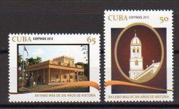 TIMBRES CUBA 2013 BAYAMO - Iglesias Y Catedrales