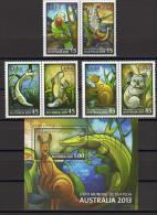 SERIE Y HB CUBA 2013 ANIMALES DE AUSTRALIA ANIMAUX D'AUSTRALIE - Sellos