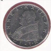 VATICAAN 100 LIRE 1959 JOH.XXIII KM64.1 - Vatican