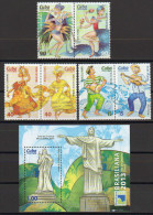 SERIE Y HB CUBA 2013 BRASILIANA DANZAS POPULARES DANSES FOLKLORIQUES - Baile
