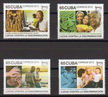 TIMBRES CUBA 2013 UPAEPE LUCHA CONTRA LA DISCRIMINACION LUTTER CONTRE LA DISCRIMINATION - Otros