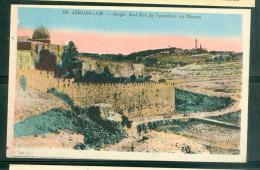 N°08 - Jérusalem - Angle Sud Est De L'enceinte Du Haram Faj11 - Palestine