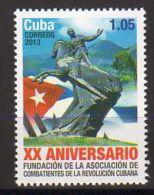 TIMBRES CUBA 2013 COMBATIENTES DE LA REVOLUCION COMBATTANTS DE LA RÉVOLUTION - Militares