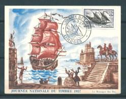 France Timbres De 1957 Journée Du Timbre  N°1093  En Premier Jour - Documents Of Postal Services