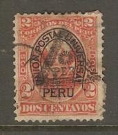 PERU    Scott  # 88 F-VF USED - Peru