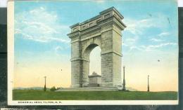 Memorial  Arch , Tilton, N.H. - Faj27 - Etats-Unis