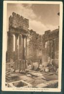 N°19  -  Baalbek ( Syrie ) - Parvis Du Temple De Bacchus   ( Défaut Sur Un Bord )     Faj38 - Syrië