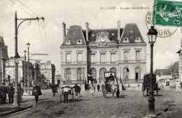 CAEN LA GARE SAINT MARTIN DEPT 14 CALVADOS - Caen