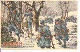 BYRRH Illustrateur CHARLES   Infanterie En Reconnaissance  ETAT - Werbepostkarten