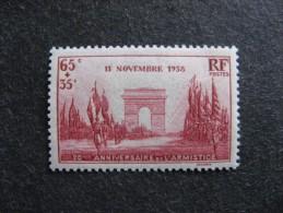 A). TB N° 403, Neuf XX . Cote = 6.50 € - Francia