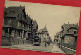 Dépt 62 - LE TOUQUET-PARIS-PLAGE - L'Avenue Et La Rue Saint-Jean - Animée, Tramway - Le Touquet