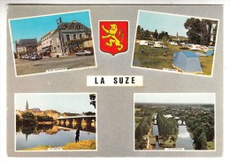 72 - La Suze - Multi-vues (blason) - Editeur: Artaud N° 101 - La Suze Sur Sarthe