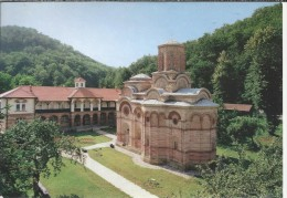 YU.- Kalenic. Klooster. The Monastery Of Kalenic - Porte. 2 Scans - Joegoslavië