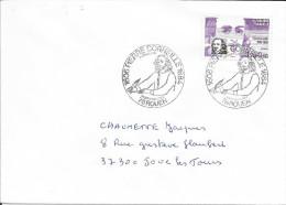 TIMBRE N° 2335 - IER JOUR D'EMISSION FRANCE  -  1984  -  PIERRE CORNEILLE  -  ROUEN - SEUL SUR LETTRE AU TARIF - 1980-1989