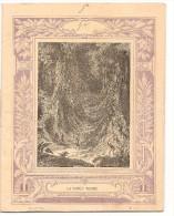 Cahier La Forêt Vierge N°46 De 1901 Cahier écrit Editions CH. D. Paris En Bon état - Protège-cahiers
