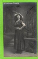 Suzanne CESBRON   �Pailasse� autographe Th�atre Royal d�Anvers, 1914