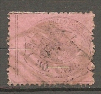 Yv. N° 25 ; SASS N° 31   (o)    80c  Cote 200 Euro  BE R  2 Scans - Etats Pontificaux