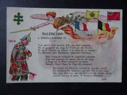 Malédiction à Guillaume II, - Humoristiques