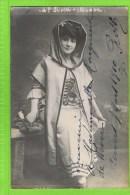 Georgette Rossi, premi�re chanteuse l�g�re, Anvers Op�ra �Manon� 1910  autographe