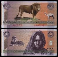 SOMALILANDIA SOMALILAND 1000 SHILLINGS COMMEMORATIVE 2006 PICK CS1 SC UNC - Somalia