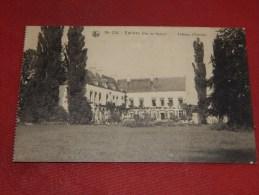 EMINES  -  LA  BRUYERE  -  Château D' Emines         -  1920    - (2 Scans) - La Bruyère