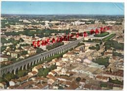 34 - MONTPELLIER -  L' AQUEDUC SAINT CLEMENT ET LE JARDIN DU PEYROU - VUE AERIENNE - Montpellier
