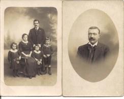 2 Photos  Famille  - Photographe H. Crampon  à  AMIENS (80) - Personnes Anonymes