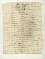 07 ARDECHE JUSTICE LOI ROI  MANUSCRIT  ARDECHE - Manuscrits