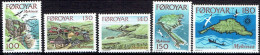 FAROE ISLANDS # STAMPS FROM YEAR 1978 STANLEY GIBBON 30-34** - Féroé (Iles)