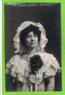 Causse Lucienne in �La fille de mme Angot� Th�atre Royal d�Anvers   autographe 1913