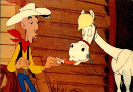 N°122 DID  LUCKY LUKE ET SES COMPAGNONS  EDITION YVON CARTE GRAND FORMAT - Disney