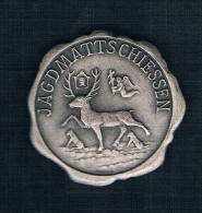 JAGDMATTSCHIESSEN. CIERVO - Monedas